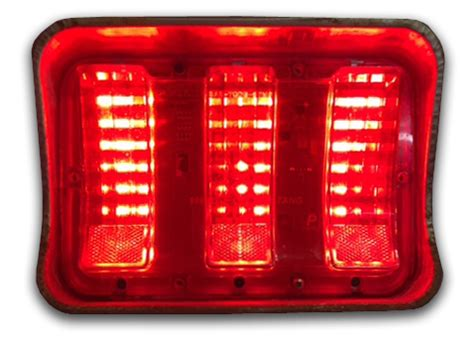 1967 1968 ford mustang sequential led tail light kit new