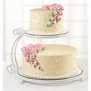 wilton 2 tier floating cake stand walmart com