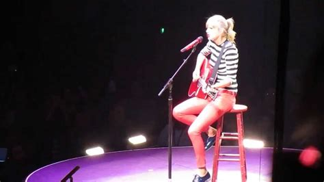 taylor swift enchanted live red tour taylor swift enchanted the red tour louisville 05 07