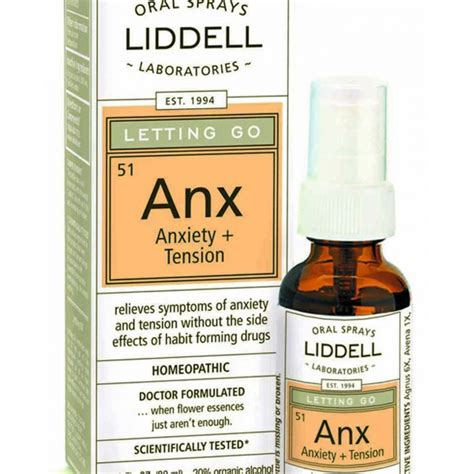 Organic Pharmacy Detox Side Effects by Anxiety Tension Liddell Laboratories