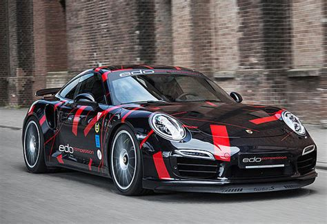 Porsche 991 Power Kit by Porsche 911 Turbo S 991 Power Kit By Edo