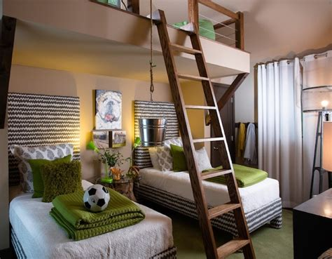 stylish loft beds for 8 creativeideas