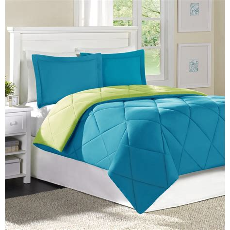 attractive blue green bedroom lime bedding decosee com