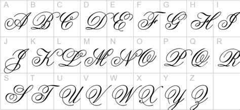 tattoo fonts that aged well cursive alphabet images of cursive letters