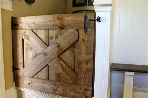 Diy Projects Made From Salvaged Junk Barn Door Gate