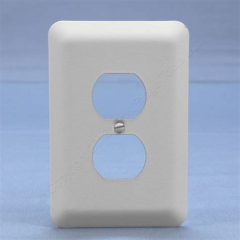 Oversized Covers Leviton Jumbo White Outlet Cover Oversize Receptacle