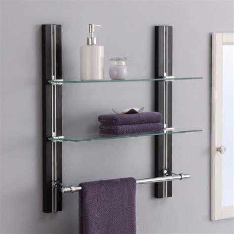 bathroom glass shelves 12 inspirations of frosted glass shelves
