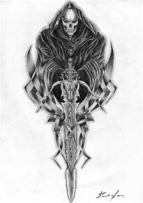 grim reaper tattoos designs free tattos pics grim reaper design picture in album