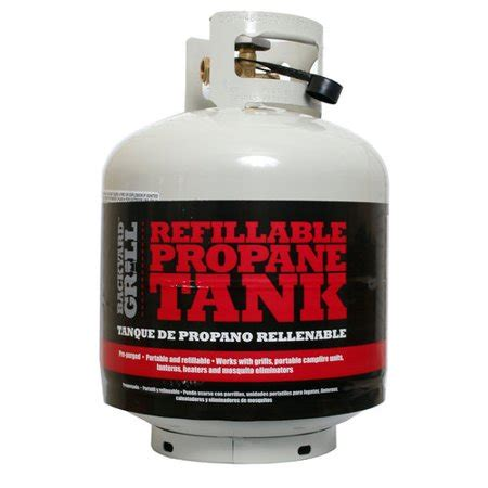 backyard grill refillable propane tank walmart