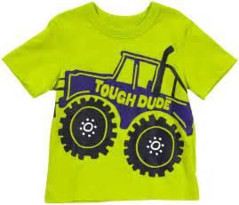 boy shirt osh kosh kids shirt boys monster truck tee