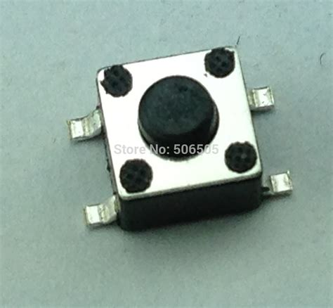 Tact Switch 6x6x6 Mm Saklar Kecil Micro On Tactile 4 Pin free shipping 6x6x6 5mm 4pin smd tactile tact mini push button switch micro switch momentary