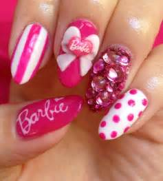 barbie nails nail art gallery