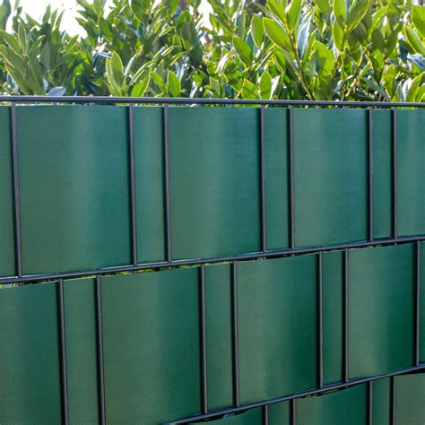 sichtschutzstreifen doppelstabmattenzaun pvc flex sichtschutzstreifen doppelstabmattenzaun gr 252 n