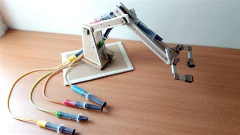 membuat robot forklift hydraulic arm using syringe and motor ppt impremedia net