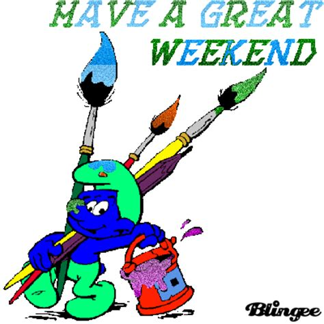 Weekend Links Fabsugar Want Need 4 by Smurfs A Great Weekend Picture 102584238 Blingee