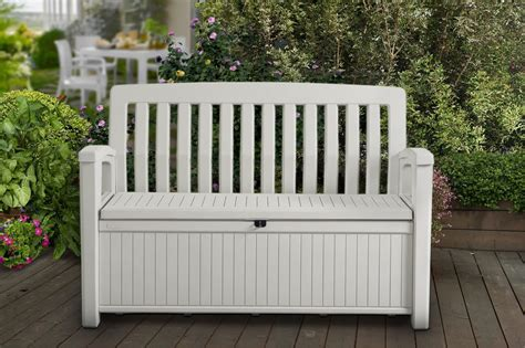 Patio Storage Bench Plastic Sheds Plastic Outdoor Storage Keter Patio Storage Bench