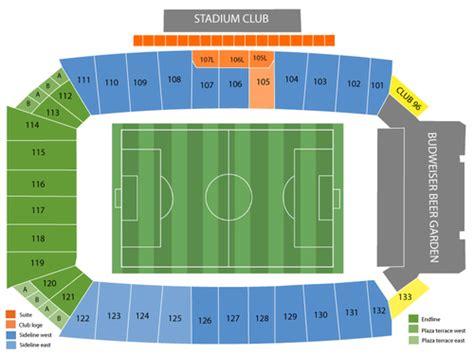 Toyota Stadium Frisco Seating Chart Toyota Stadium Formerly Fc Dallas Stadium Seating Chart