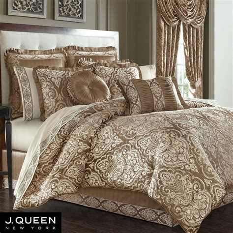 j queen new york bedding stafford medallion comforter bedding by j queen new york