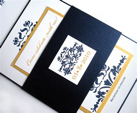 wedding invitations navy and gold navy and gold wedding invitation navy blue wedding invitation