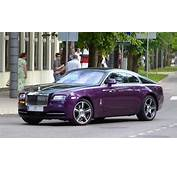 Purple Rolls Royce Wraith Spotted In Latvia