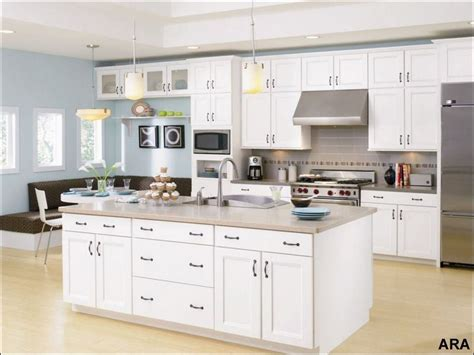trending kitchen cabinet colors white thermofoil cabinets
