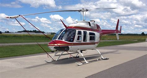 Helicopter Bell 206 1983 bell 206 l 1 thabet aeroplus