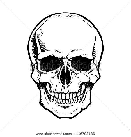 Shoo Bottle Outline by Best 25 Simple Skull Drawing Ideas On Skull Drawings Skeleton Drawing Easy And