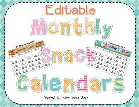 snack calendar template snack calendar template 28 images snack schedule