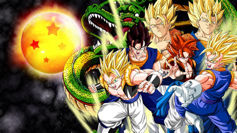 dragon ball z christmas wallpaper dragon ball z wallpapers hd goku free download