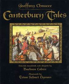canterbury tales by barbara cohen illustrated by trina schart hyman harpercollins children s