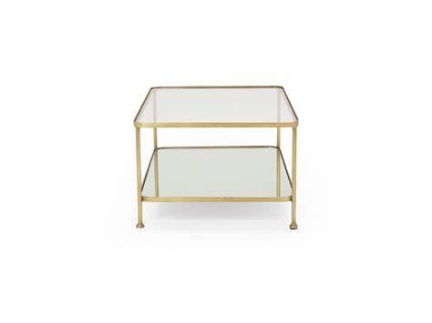 brass glass coffee table boy coffee table brass and glass coffee table loaf