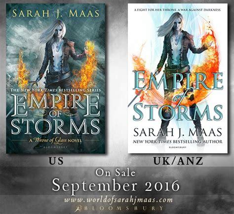libro empire of storms throne portada revelada empire of storms trono de cristal 5 sarah j maas locas x los libros
