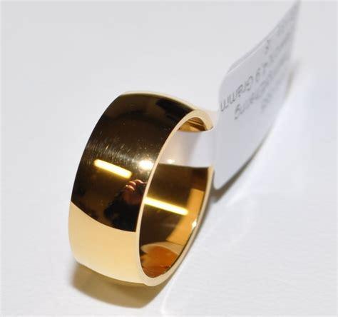 1 trauring ehering hochzeitsring gold 333 breite 8mm - Eheringe 8mm Breit Gold