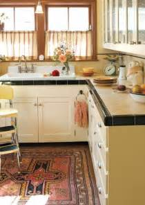 tile countertop kitchen