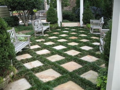 residential landscaping traditional patio atlanta