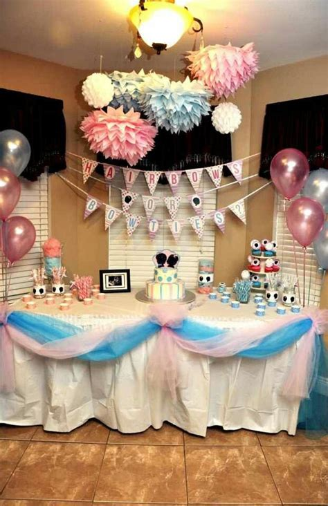 Gender Reveal Decorations by 25 Best Ideas About Gender Reveal Decorations On Baby Reveal Ideas Baby
