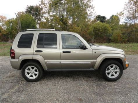 2006 Jeep Liberty Mpg Purchase Used 2006 Jeep Liberty Limited Sport Utility 4