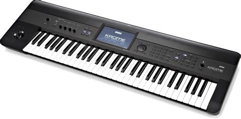 Keyboard Korg Krome 61 by Korg Krome 61 Thomann Espa 241 A