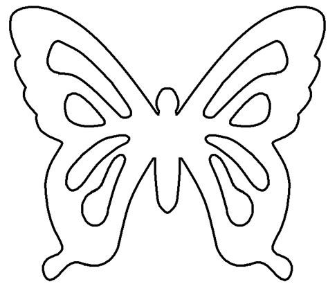 printable butterfly template christian symbols for chrsmon patterns