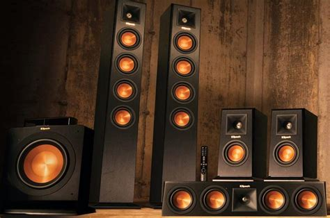 klipsch wisa home audio system starpower
