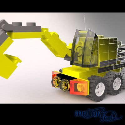 lego rhino tutorial lego rhino pieces 3d model