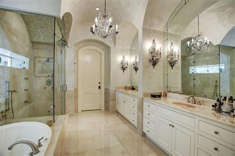 bathroom chandelier 27 gorgeous bathroom chandelier ideas designing idea