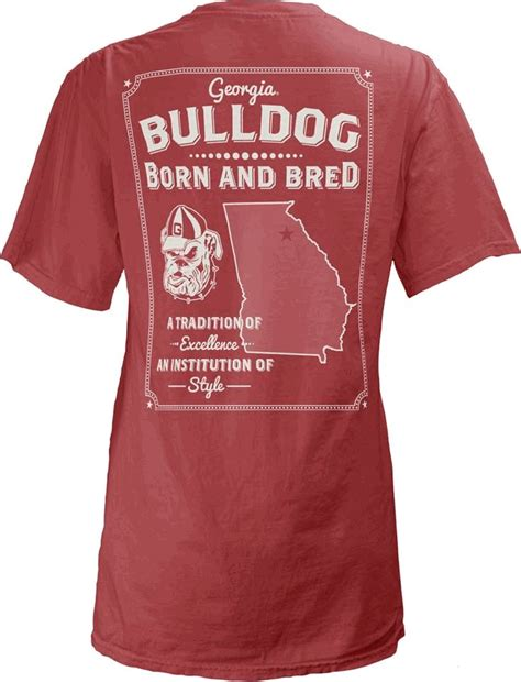 uga comfort colors 205 best images about dawg fans on pinterest polos