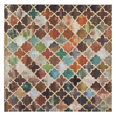 moroccan pattern wall art tile pattern moroccan canvas