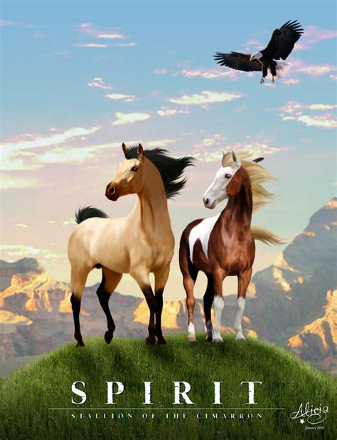 film love on a horse disney s animash images real version of spirit rain and