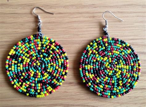 Handmade From Africa - maasai handmade africa ethnic jewelry beaded multi color