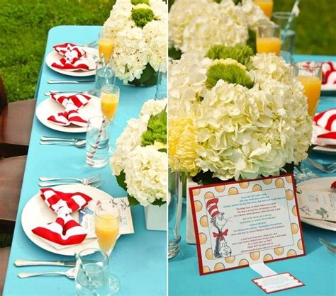 baby shower ideas for decorations dr seuss theme dr seuss themed baby shower guest feature