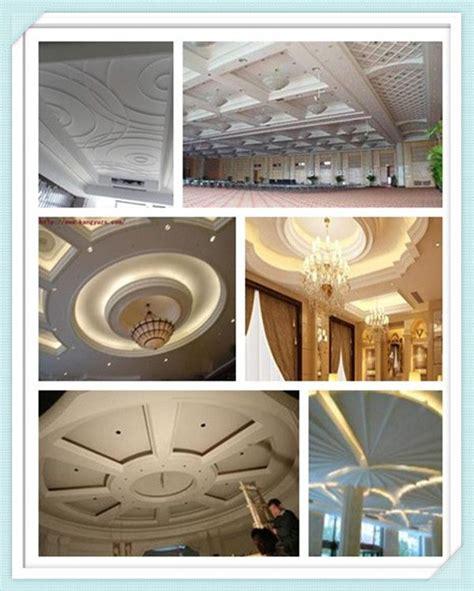 flower pattern on ceiling mordern latest pop royal hall roof decoration grg false