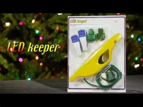 light keeper for led christmas lights youtube