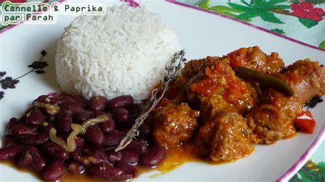 la cuisine r 233 unionnaise rougail cari riz cr 233 ole br 232 des